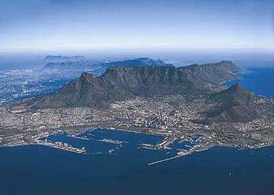 Table Mountain Aerial